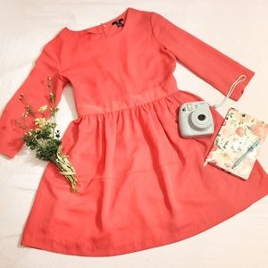 H&M CORAL CASUAL DRESS